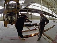 Хранилище отходов ядерного топлива Красноярского горно-химического комбината в городе Железногорске