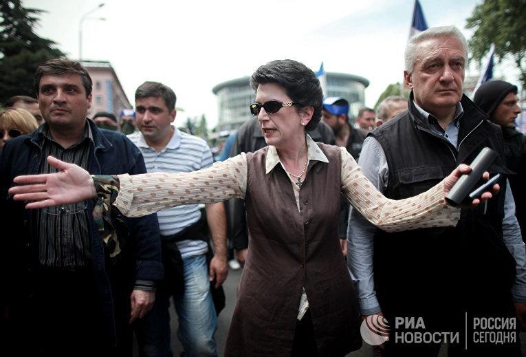 Акция оппозиции в Грузии