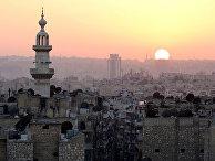 Заход солнца в Алеппо