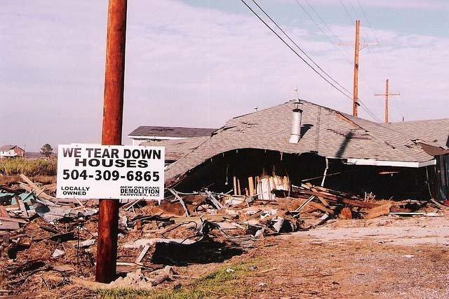 Последствия урагана «Катрина»