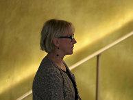 Министр иностранных дел Швеции Маргот Валльстрём