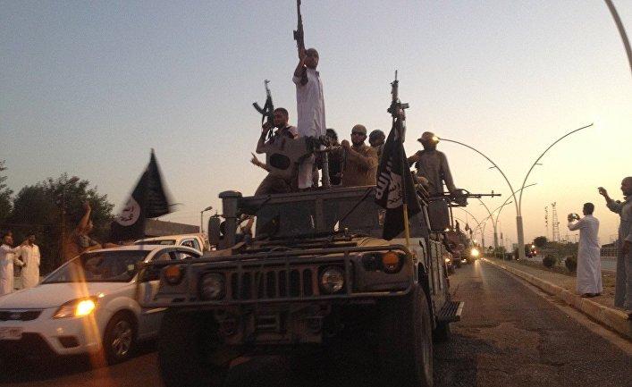 Боевики Исламского государства Ирака и Леванта в Мосуле