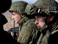 Учения бригады морской пехоты Тихоокеанского флота