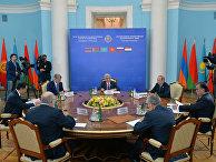 Заседание в Ереване Совета коллективной безопасности ОДКБ