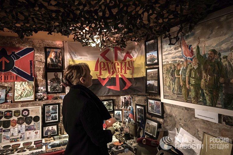 В Санкт-Петербурге почтили память погибшего командира ополчения ДНР Арсена Павлова