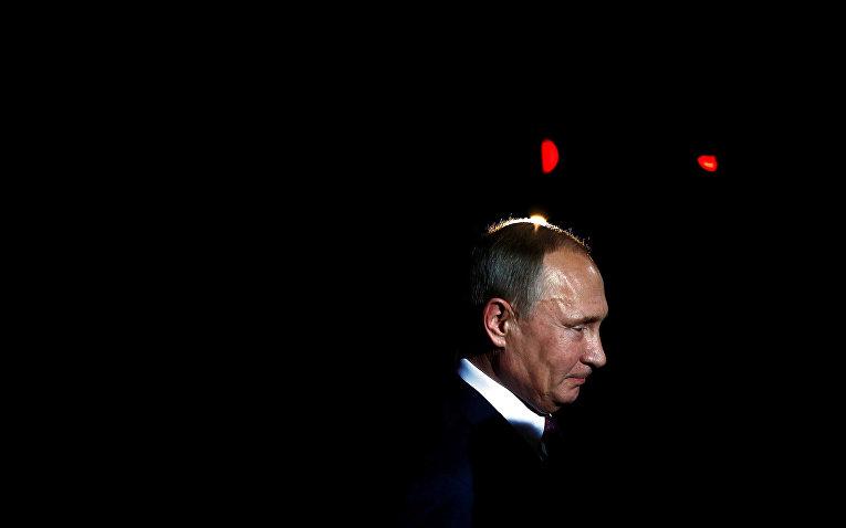 Президент РФ Владимир Путин прибыл на встречу лидеров стран «нормандской четверки»