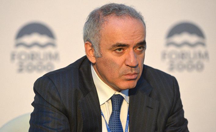 Экс-чемпион мира по шахматам, писатель и оппозиционный активист Гарри Каспаров