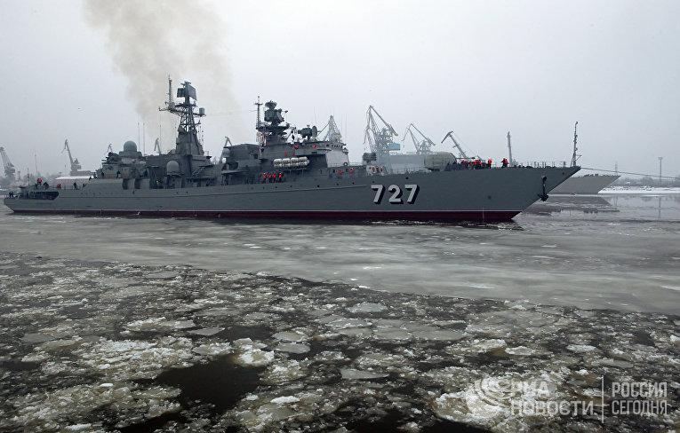 Сторожевой корабль «Ярослав Мудрый» вышел на ходовые испытания