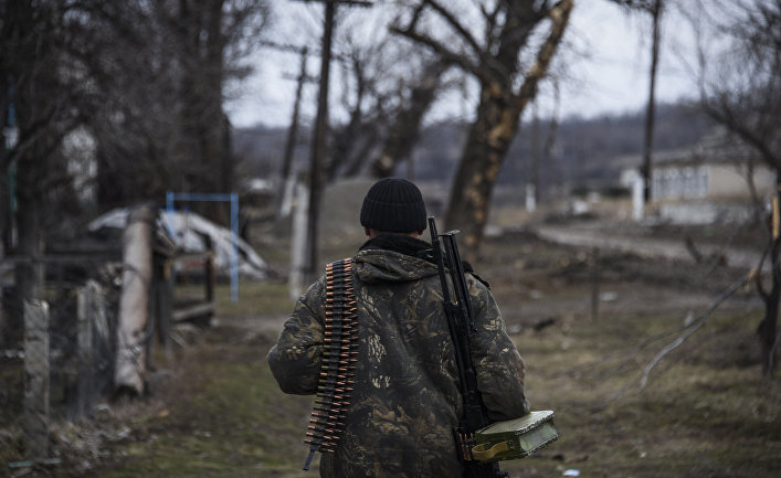 МОРФ опровергло слухи озадержании вДонбассе русского военнослужащего