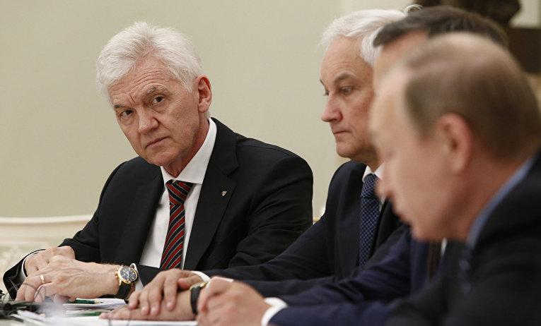 Российский миллиардер Геннадий Тимченко