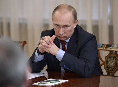 В.Путин провел встречу с членами Совета палаты Совета Федерации