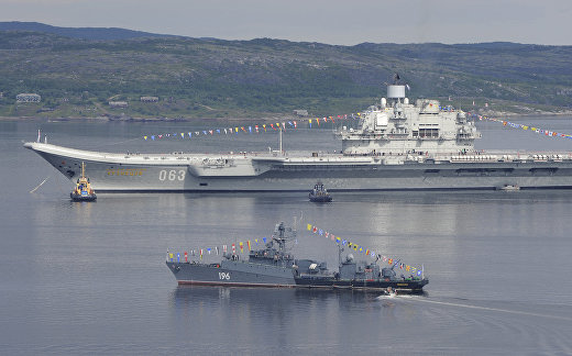 НАТО следит за «Адмиралом Кузнецовым»