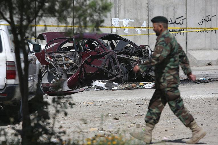 Солдат афганской национальной армии