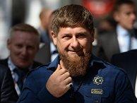 Глава Чеченской Республики Рамзан Кадыров на международном инвестиционном форуме «Сочи 2016»
