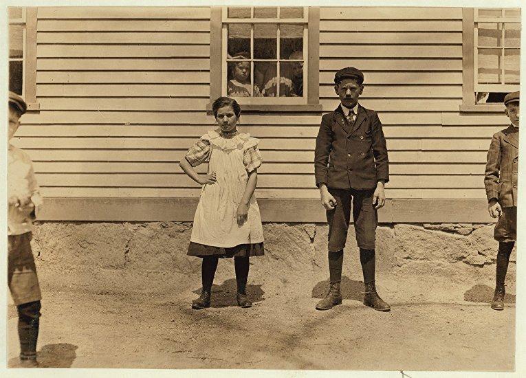 Детский труд в Америке 1900-х