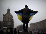 Протесты на площади Независимости в Киеве