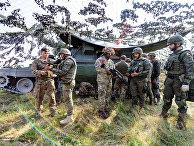 Проверка войск НАТО