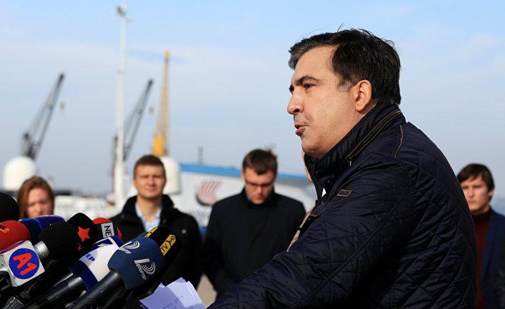 Мыждем отпрезидента оценки заявлений Саакашвили,— руководитель Одесского облсовета