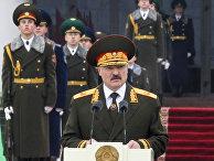 Президент Белоруссии Александр Лукашенко во время церемонии инаугурации