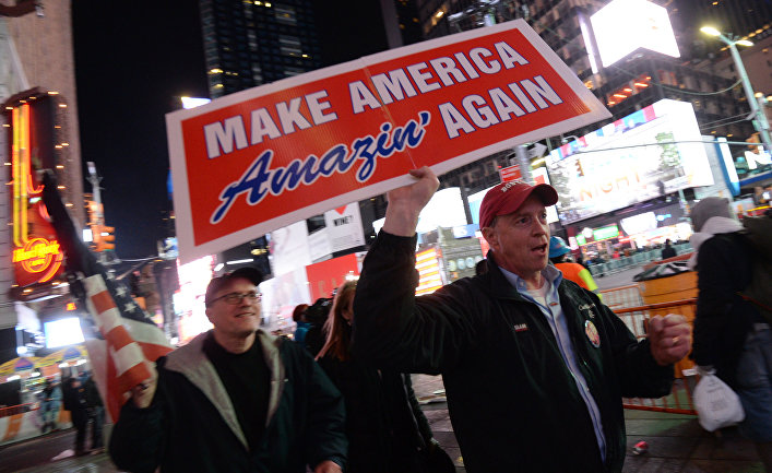ВСША неменее млн человек подписали петицию против Трампа