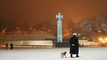 Монумент Крест Свободы в Таллине