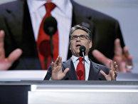 Бывший губернатор Техаса Рик Перри выступает в Кливленде