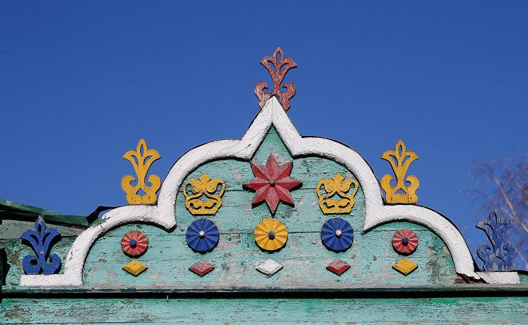 Элементы фасада дома в Ростове, Ярославская область