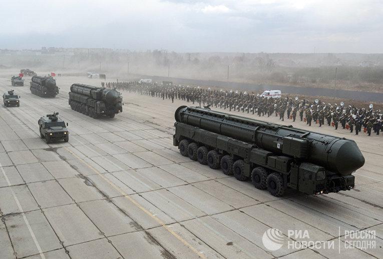 Межконтинентальные баллистические ракеты «Ярс»