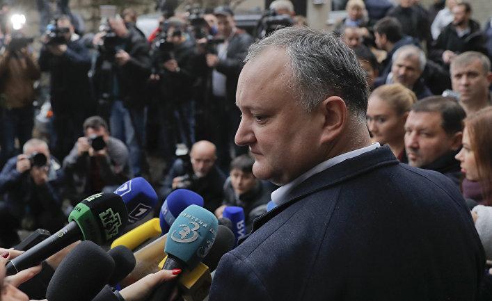 Санду обжалует результаты голосования— Выборы вМолдове