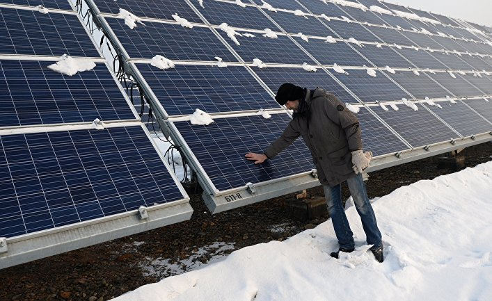 Солнечная батарея нового типа