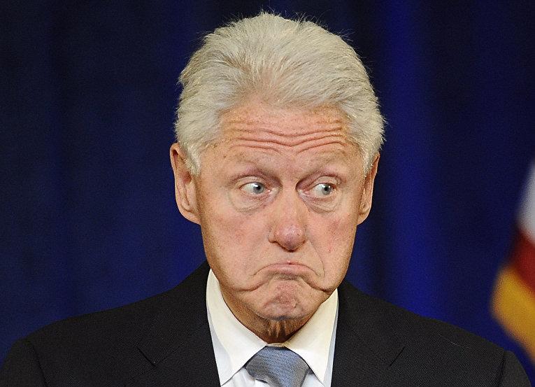 Бывший президент США Билл Клинтон