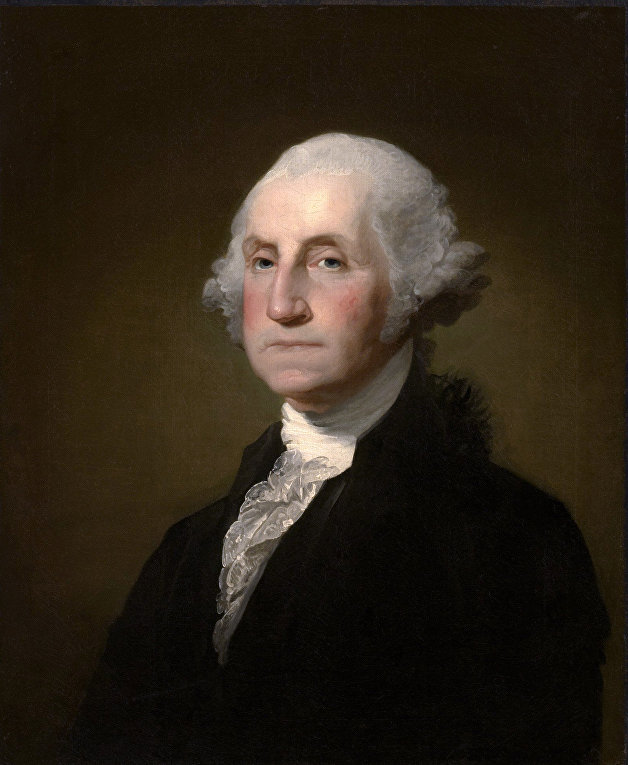Президент США Джордж Вашингтон