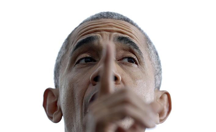 Барак Обама связался сМосквой поспецсвязи после хакерских атак— NBC