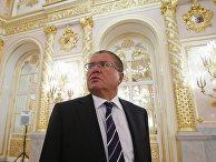 Министр экономики РФ Алексей Улюкаев в Кремле