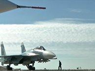 """Крейсер """"Адмирал Кузнецов"""" и СКР """"Адмирал Григорович"""" впервые задействованы в операции в Сирии"""