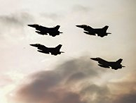 Истребители F16 турецких и польских военно-воздушных сил