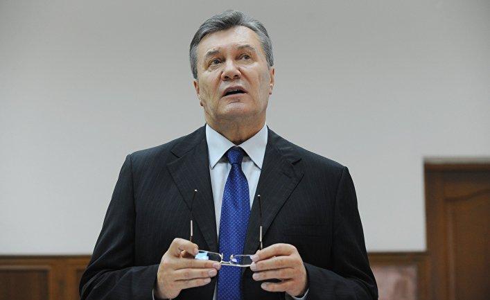 Бывший президент Украины Виктор Янукович в Ростовском областном суде