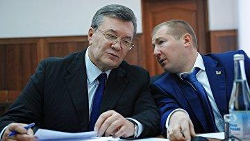 Бывший президент Украины Виктор Янукович в Ростовском областном суде. 28 ноября 2016