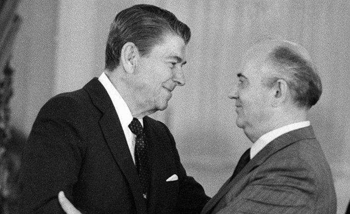 Михаил Горбачев, Рональд Рейган