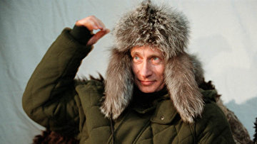 Президент РФ Владимир Путин во время ланча