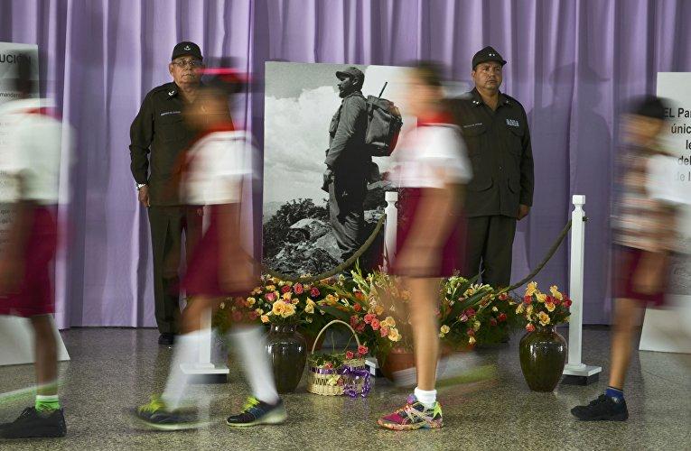Церемония прощания с Фиделем Кастро в Сантьяго-де-Куба