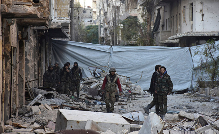 Русские  саперы вылетели вСирию для разминирования Алеппо
