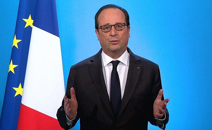 Олланд отказался от 2-го президентского срока