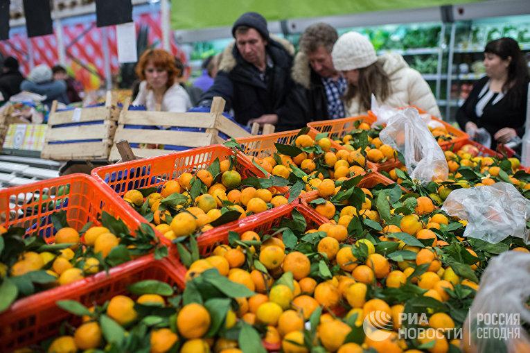 Россия вводит запрет на турецкие продукты