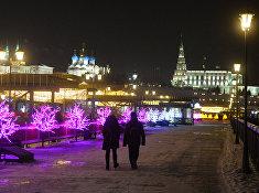 Открытие катка на Кремлевской набережной в Казани