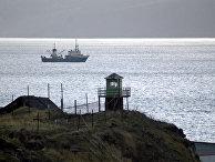 Пограничная башня на острове Кунашир, Дальний Восток