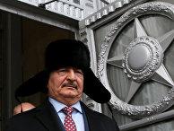 Командующий национальной армией Ливии генерал Халифа Хафтар