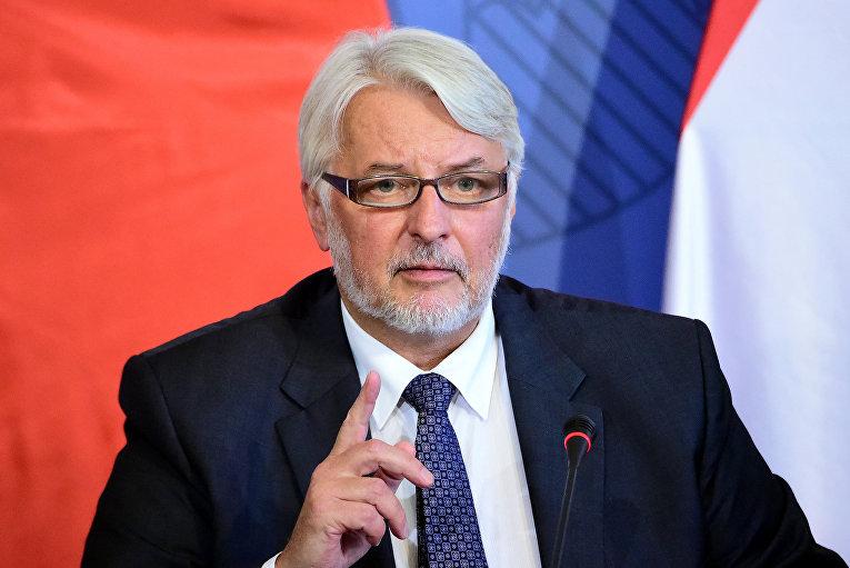 Министра иностранных дел Польши Витольд Ващиковский