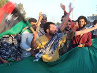 Ливийцы празднуют поражение последнего оплота «Исламского государства»