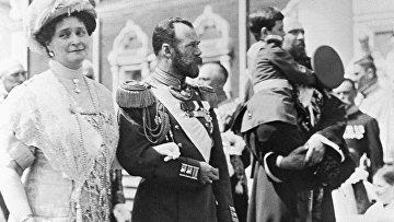 Царская семья в Кремле